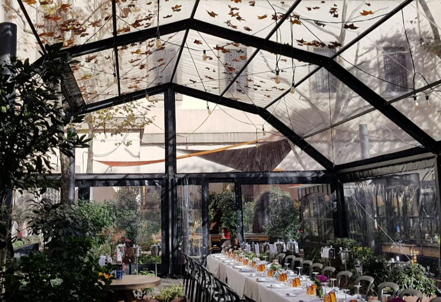 Carpa Terraza Cafetería